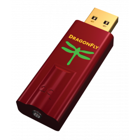 AudioQuest DragonFly Red USB DAC / Preamp / Headphone Amp