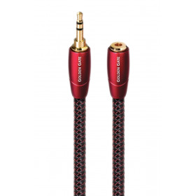 AudioQuest Golden Gate 3.5mm Mini Male to Mini Female Headphone Extension Cable