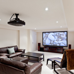 Projector home theatre