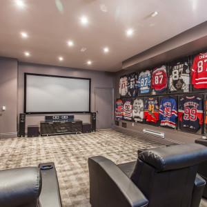 Hockey Home Theatre