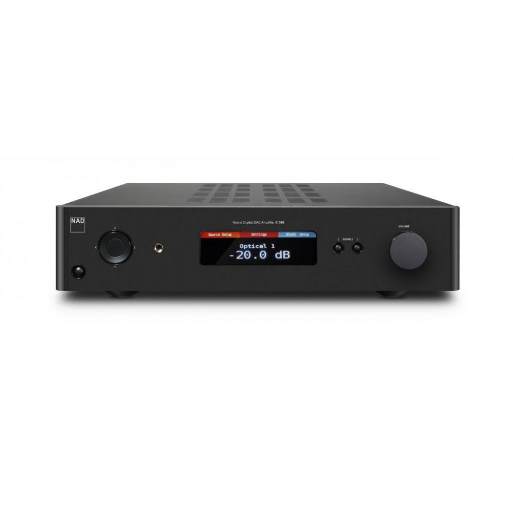 nad c368 hybrid digital dac amplifier bay bloor radio toronto. Black Bedroom Furniture Sets. Home Design Ideas