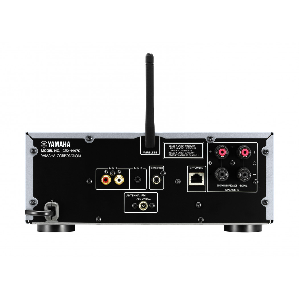Yamaha crx n470 micro receiver w wi fi bluetooth bay for Yamaha tv receiver