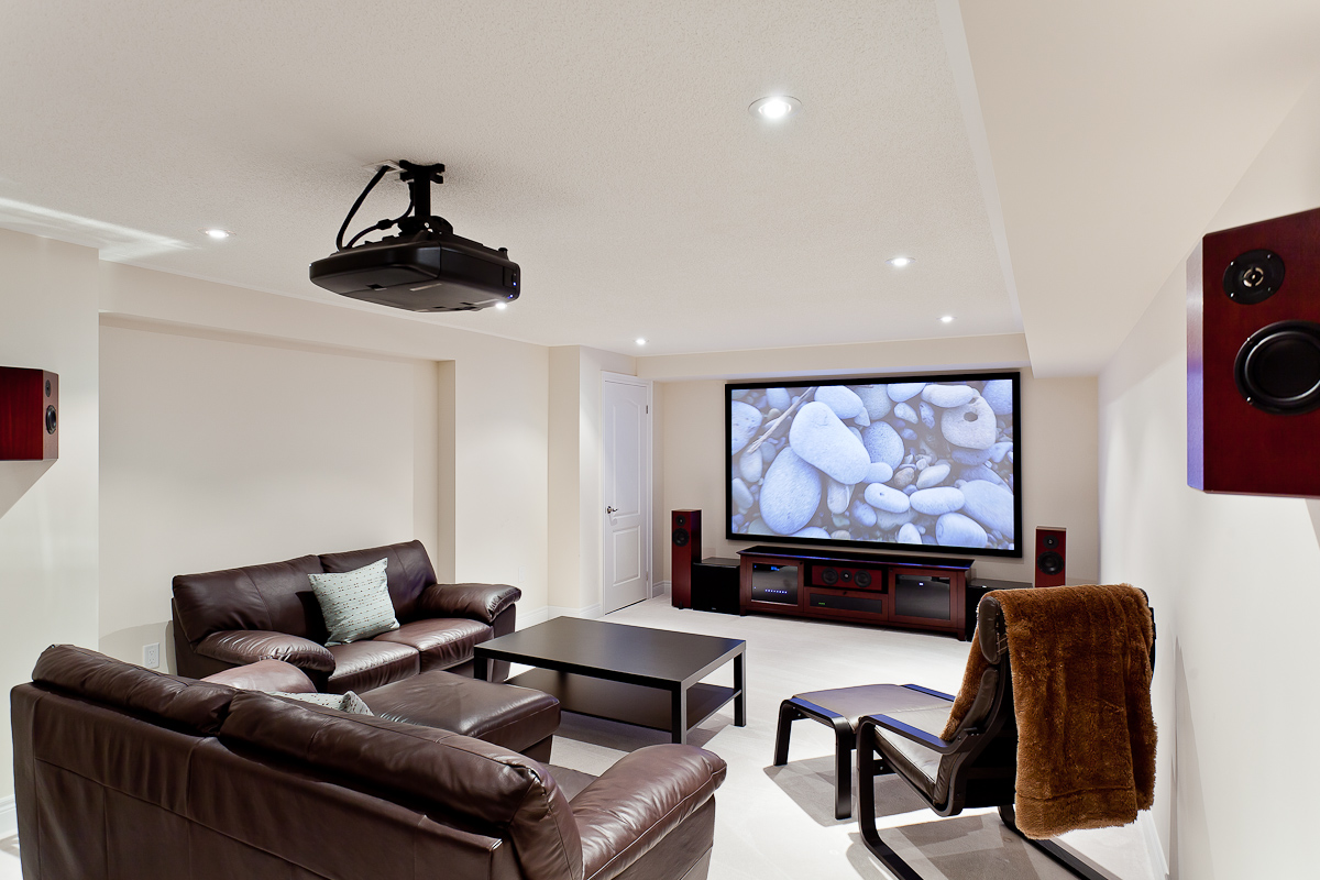 Custom Design Installation Bay Bloor Radio Toronto Canada Wiring Speakers In House Projector Home Theatre